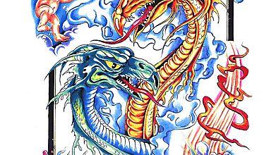 Братья-драконы и небесные обитатели