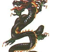 Небольшой китайский дракон