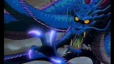 Синий дракон с плазменными когтями