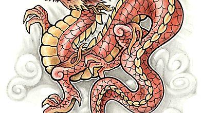 Дракон китайской провинции Хэнань