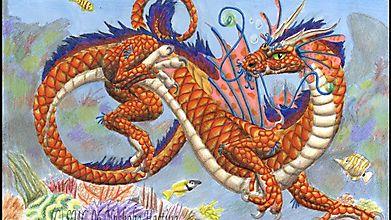 Подводное плавание дракона