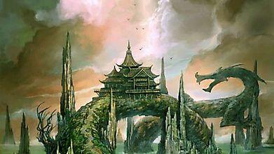 Храм на спине каменного дракона